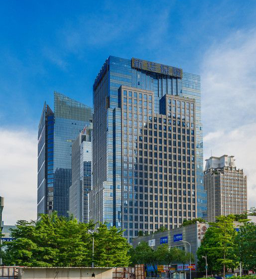 新华保险大厦照明工程