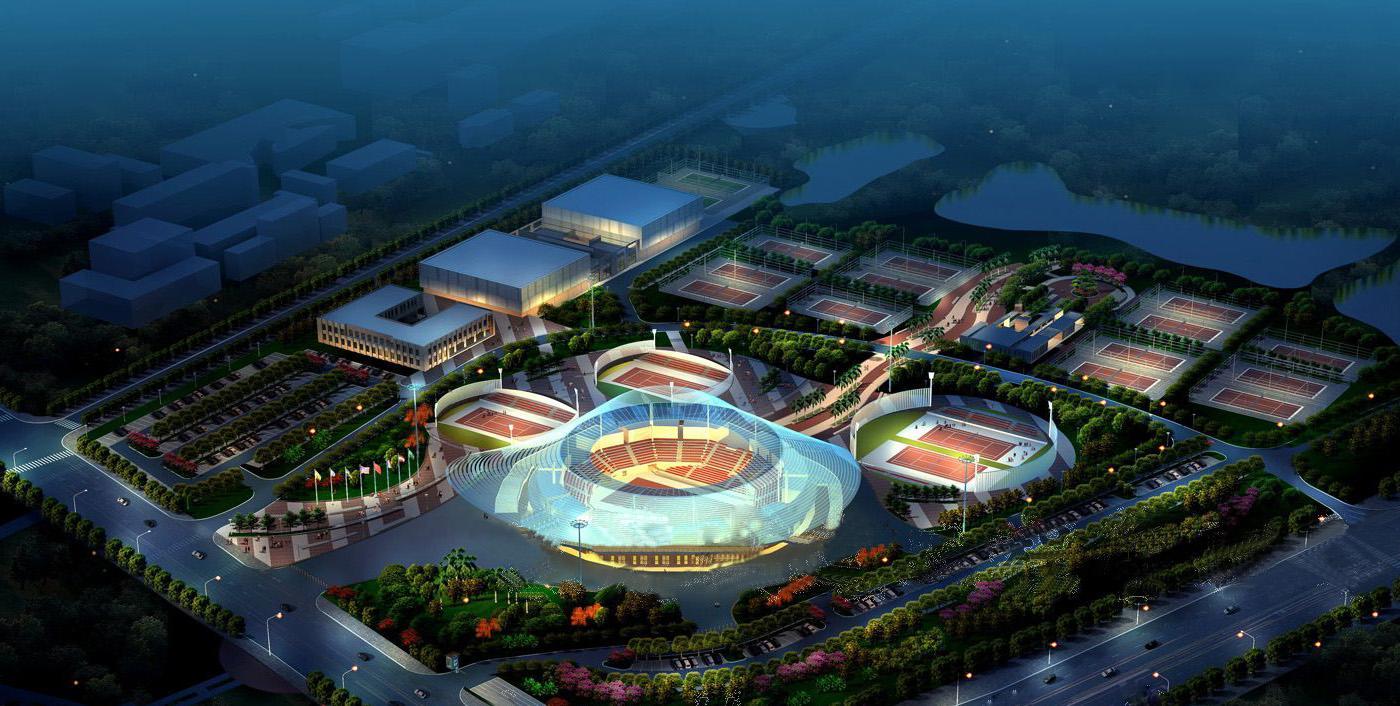 东莞网球中心照明工程