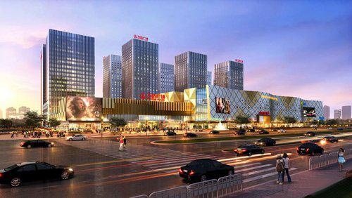 金华万达广场商业照明工程