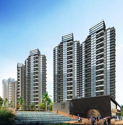 深圳市龙华新区大道卓越金利居住宅亮化工程