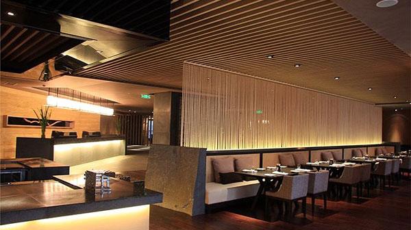 酒店西餐厅照明